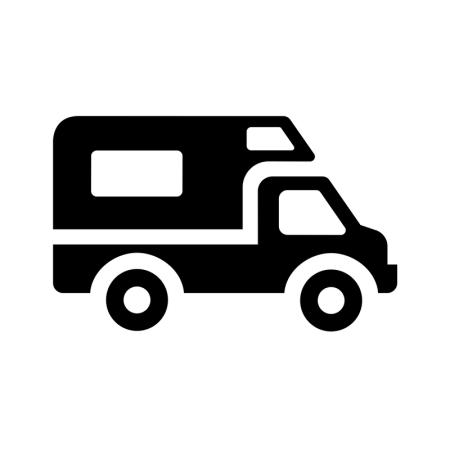 RV Icon Image.