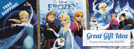 Disney Frozen Throws at US-Mattress.com