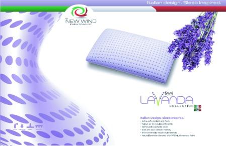 New Wind Lavanda Feel Memory Foam Pillow