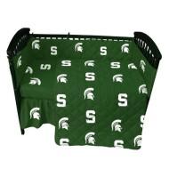 College Covers Michigan State University Crib Set