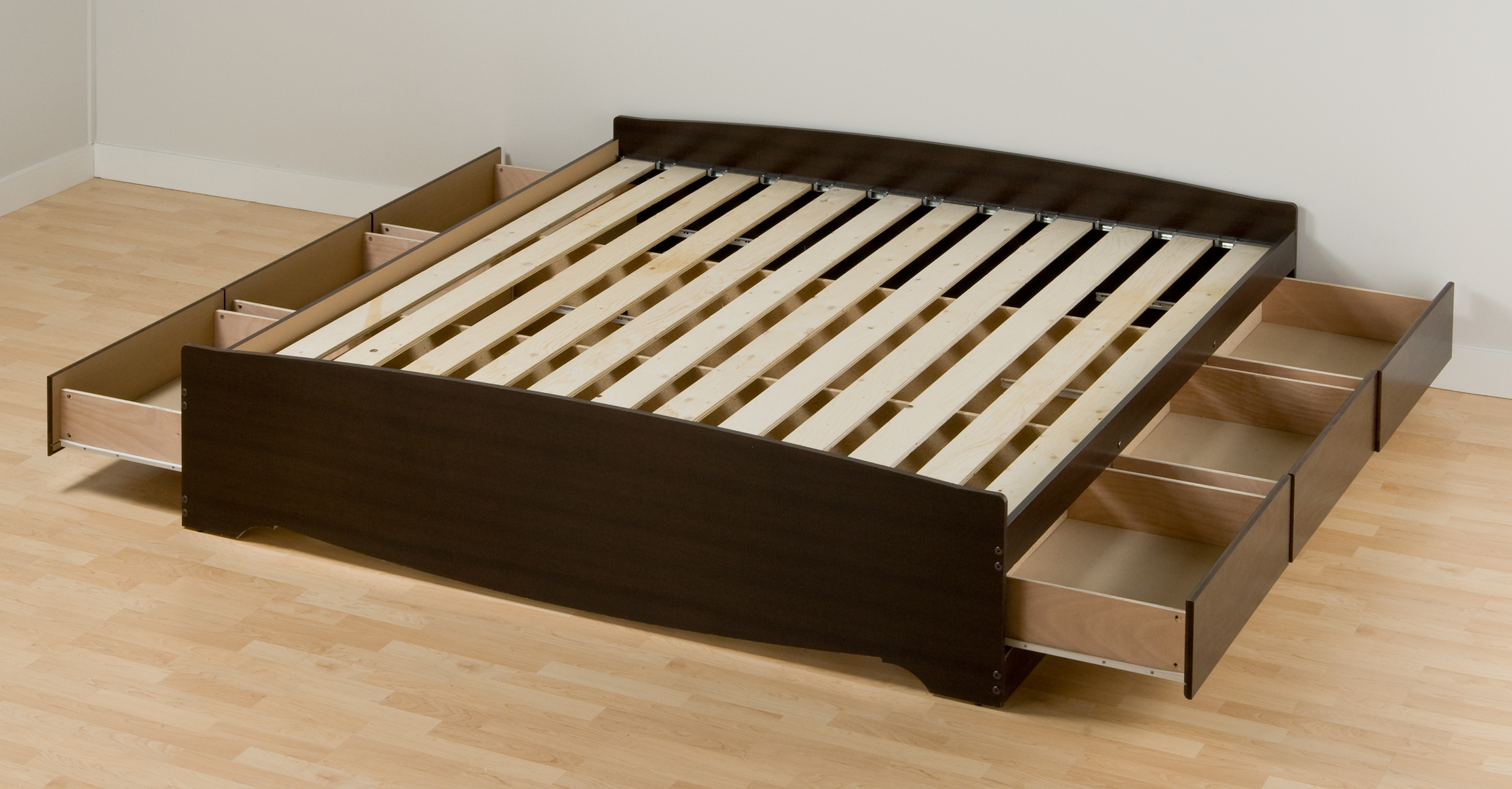 platform bed with storage - Platform Bed Frame For Memory Foam Mattress