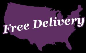 Free shipping map