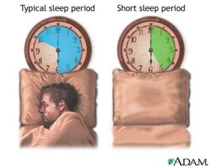 normal sleeper vs short sleeper
