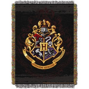 Entertainment+Harry+Potter+Hogwarts+D%C3%A9cor+Tapestry+Throw