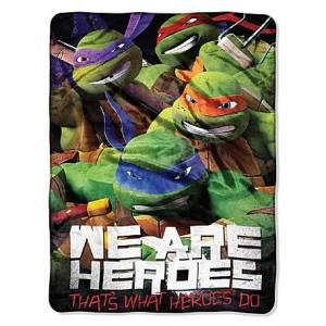 Teenage Mutant Ninja Turtles Micro Raschel Throw by Northwest Company