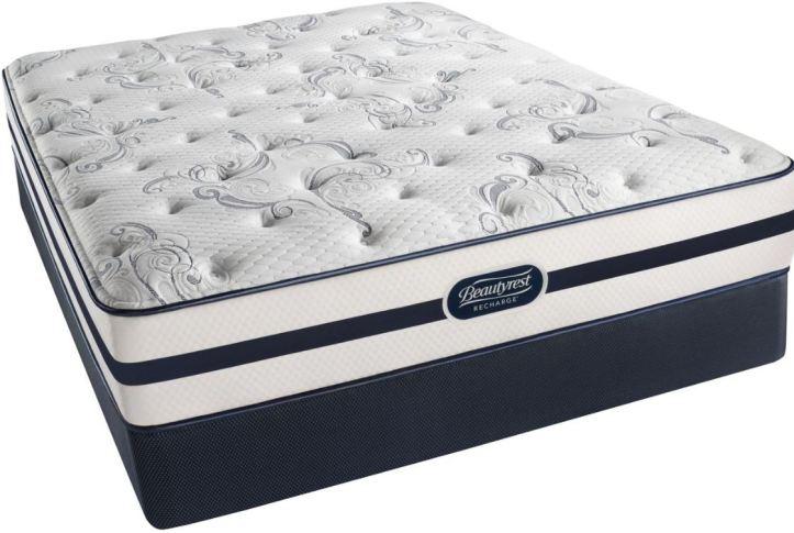 Simmons beautyrest recharge adda II plush mattress.