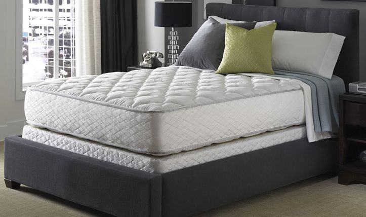 Serta Perfect Sleeper Hotel Sapphire Suite Double Sided Plush Mattress