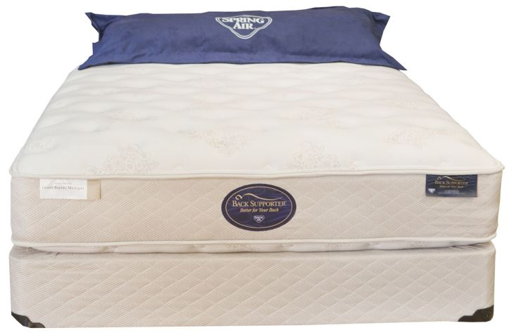 Spring Air & Hotel Suites Collection Grand Resort Double Sided Plush Mattress